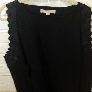Pretty loft cold shoulder sweater